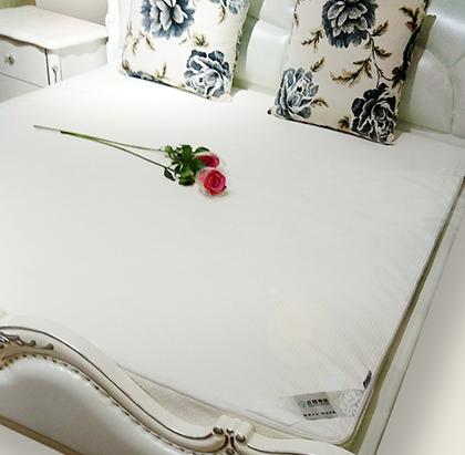 涤棉空气层提花床包