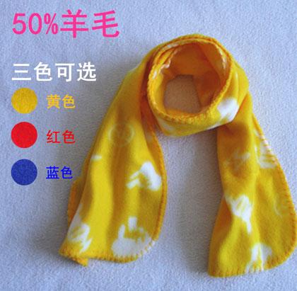 儿童羊毛保暖围巾