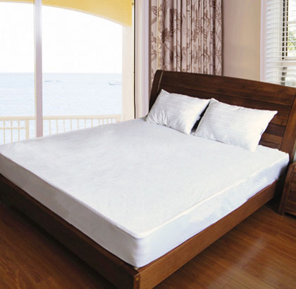 毛巾布床罩