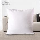 芸蔻 全棉纯色方形枕头舒适靠枕 多色可选拉链式优质抱枕