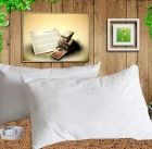 Terry cloth waterproof pillowcase