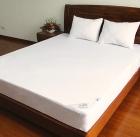 100% cotton single jersey waterproof mattress encasement