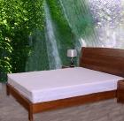 Knitted fabric waterproof mattress encasement