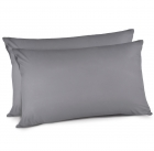 Adoric Life 8992466963697 Queen Grey 100% Polyester Mico Fiber Pillow Cases